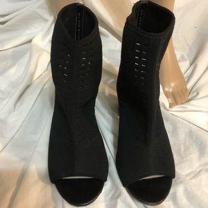 Fergalicious Peep Toe Short Boots (Booties)